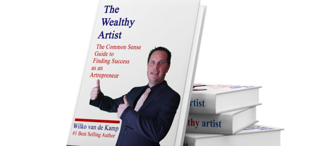 New ebook: The Wealthy Artist – The Common Sense Guide to Finding Success as an Artrepreneur