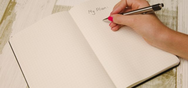 How I use writing as a process to get organized