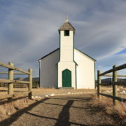 My favourite old church in Alberta – destroyed by fire